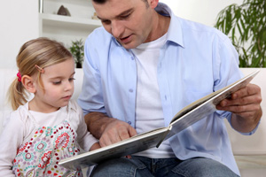Learn how to read with your child.